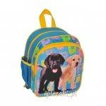PLECACZEK Mały Plecak z PIESKAMI Pies