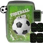 Piórnik Piłka Nożna Szkolny 2 komorowy dla Chłopaków Futbol [PP20FO-P022BW]