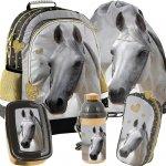 Plecak z Koniem dla Dziewczynki Szkolny Zestaw [PP19H-116]