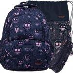 Plecak Emoji St.Majewski Młodzieżowy Szkolny [BP7 EMOJI PINK]