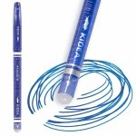 Długopis Wymazywalny Ścieralny z Gumką Kidea Niebieski [DWKA]