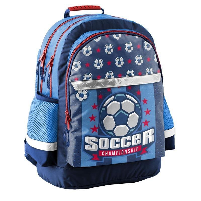 bcd532c2f09cc Plecak Szkolny z Piłką Football Soccer do Szkoły dla Chłopaka