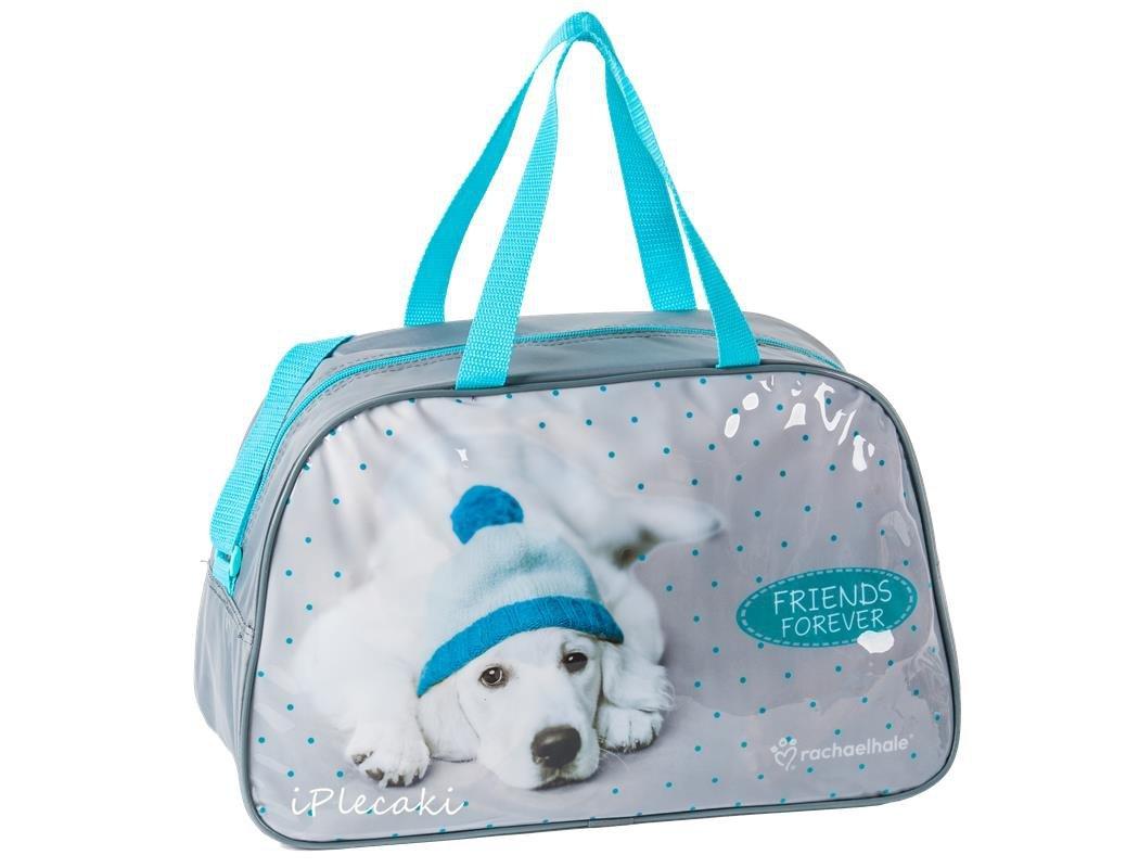 de0cee818e5b0 torba dziecięca z pieskiem w czapce na basen wakacje podroż podróżna  sportowa