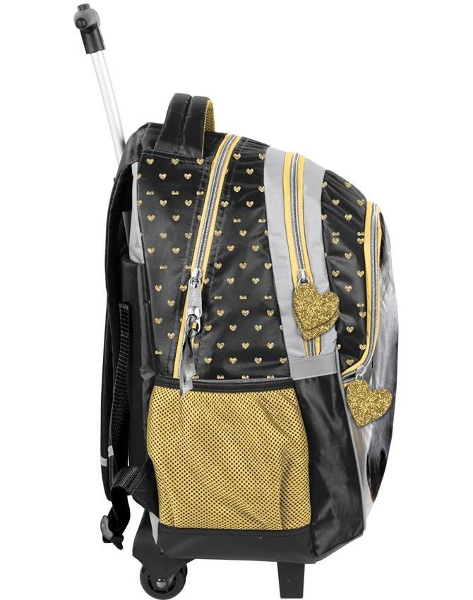 0df4cd03a0c2b Plecaki Szkolne na Kółkach z Koniem dla Dziewczynki Zestaw  PP19H-997