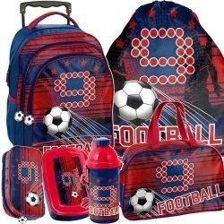 Plecak na Kółkach Piłka Nożna dla Chłopaka [PP19FT-300]