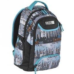 Plecak Młodzieżowy Szkolny Piksele Unique [17-2908UM]