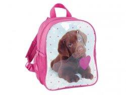 Plecak do Przedszkola z Pieskiem Pies Piesek dla Dziewczynki