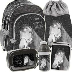 Plecak dla Dziewczynki Zestaw na Zajęcia Szkolne [PP19KO-090]