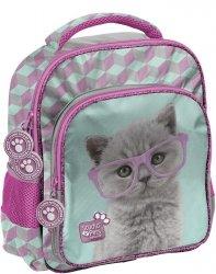 Plecak do Zerówki Przedszkola Wycieczkowy z Kotem [PTF-337]