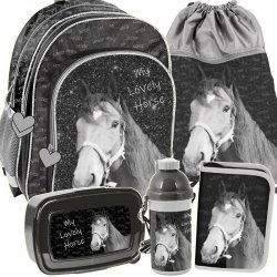 Plecak dla Dziewczyny Zestaw na Zajęcia do Szkoły [PP19KO-090]