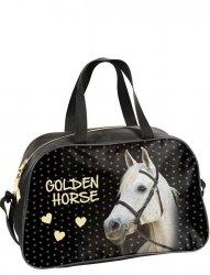 Torba Sportowa Dziecięca z Koniem Golden Horse [18-074HS]