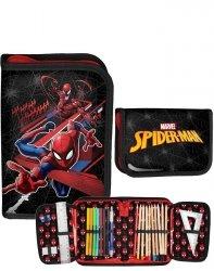 Wspaniały Piórnik Spiderman z Wyposażeniem Chłopięcy [SPV-001]