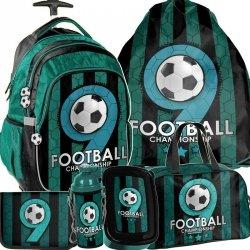 Plecak z Kółkami do Szkoły Podstawowej Piłka Nożna [PP19F-997]