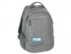 Plecak Młodzieżowy Szkolny Szary dla Chłopaka Dziewczyny 17-2808UP