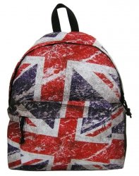 Plecak Vintage Młodzieżowy Szkolny Nowoczesny Wzór [16J 04]