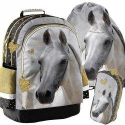 Plecak Koń Konie dla Dziewczynki Szkolny Zestaw [PP19H-116]