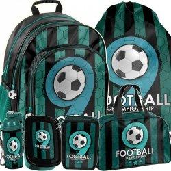 Plecaki Szkolne Piłką Nożną dla Chłopca Mega Zestaw [PP19F-090]