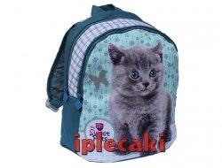 Plecak z Kotkiem Kotem Kot dla Przedszkolaka Wycieczkowy