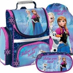 Tornister Frozen Kraina Lodu Szkolny dla Dziewczynek [DOZ-525]