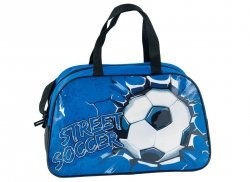 Torba Sportowa Dziecięca z Piłką Piłka Nożna Street Soccer 17-074F