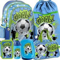 Plecak dla Chłopca z Piłką Football Zestaw dla Chłopaka [PP19PI-081]