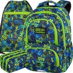 Patio CoolPack Plecak CP dla Chłopaka  Szkolny XO SKULL [C01194]