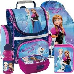 Dziewczęcy Tornister Kraina Lodu Szkolny Frozen [DOZ-525]