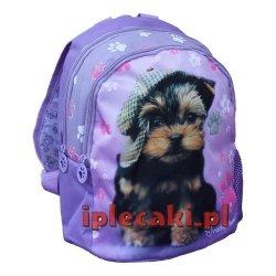 Plecak z Pieskiem Pies Piesek do przedszkola dla dziewczynki [605498]