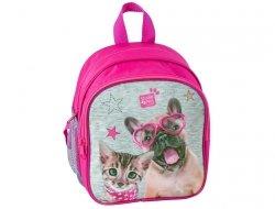 Plecak z Kotkiem Pieskiem do Przedszkola dla Dziewczynki PEE-309