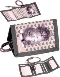 Portfel z Kotem Kot dla Dziewczynki Portfelik [RLD-002]