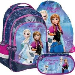 Frozen Plecak dla Dziewczyny Szkolny Kraina Lodu [DOZ-181]