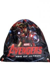 Worek Avengers na obuwie Kapcie Iron Man Kapitan Ameryka Hulk [AVF-712]