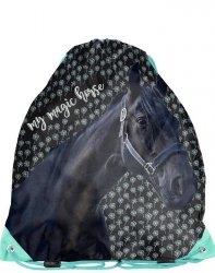 Worek w konie na Kapcie Obuwie Wf Gimnastyczny [PP19KN-712]