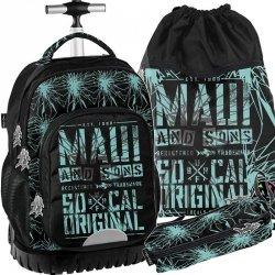 Maui&Sons Plecak na Kółkach Młodzieżowy Szkolny [MAUD-1231]