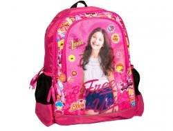 Soy Luna Plecak Szkolny dla Dziewczyny Różowy Czarny [DLN-081]