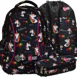 Młodzieżowy Plecak St.Right Jednorożec Majewski Unicorns [BP26]