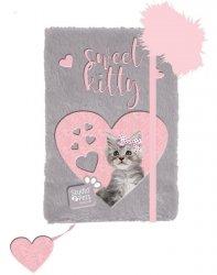 Pamiętnik Pluszowy z Kotem dla Dziewczyny [PLC-3673]