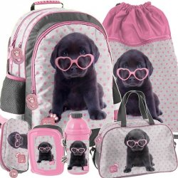 Plecak Piesek Labradorek Szkolny dla Dziewczynki [PTB-116]