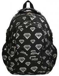 Plecak Młodzieżowy St.Right Szkolny Diamenty dla Dziewczyny [BP1]