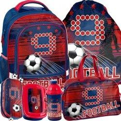 Plecak Szkolny dla Fana Piłki Nożnej Zestaw [PP19FT-260]