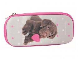 Piórnik Etui Szkolny Pies Labrador dla Dziewczyny RHP-0011