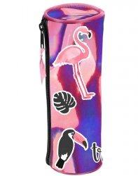 Piórnik Różowy Tuba Szkolny dla Dziewczyny [PPLS-003]