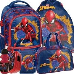 Plecak Szkolny Zestaw Spiderman dla Chłopaka [SPU-260]