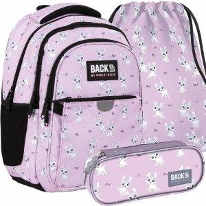 Plecak Szkolny Sarenki dla Dziewczynek Różowy Młodzieżowy [PLB4P25]