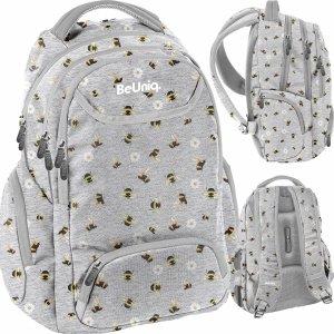 Plecak w Pszczółki i Kwiatki Młodzieżowy Szkolny Dziewczęcy [PPEE20-2908/16]