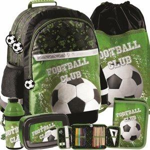 Modny Plecak Szkolny dla Małego Kibica Piłki Nożnej [PP20FO-116]