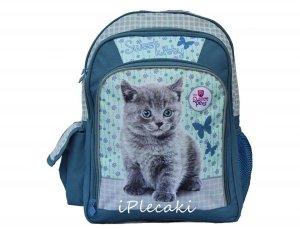 Plecak z Kotkiem Szkolny Kot Kotek dla Dziewczyny 606913