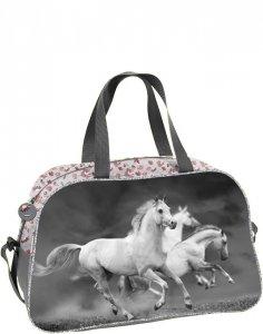 Torba Sportowa w Konie dla Dziewczyny na Podróż [PP19HS-074]