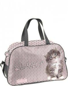 Torba Sportowa w Koty dla Dziewczynki na Podróż [RLD-074]