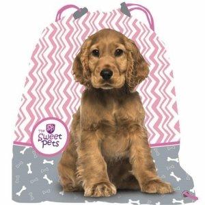 Pies Seter Worek z Pieskiem na Obuwie Kapcie Buty [606604]
